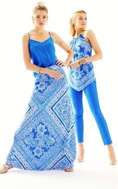 The Nola A-Line Maxi Skirt is a stretchy, spandex skirt. Wear this a-line skirt for a nautical summer look. Pretty Clothes, Pretty Outfits, Mimi Ikonn, Skirt Fashion, Fashion Outfits, Lilly Pulitzer Prints, Southern Pride, Resort Dresses, Perfect Wardrobe