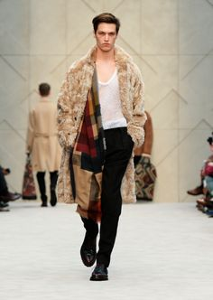 Burberry Prorsum Fall-Winter 2014, London Collections: Men