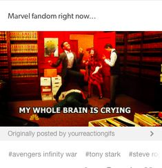 accurate. I think we're always like this though? infinity war just made it a little worse than usual.