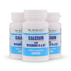 The Key to Building Strong Bones That Few People Know About - Calcium with Vitamins D and K2 supplement provides nutrients in an advanced form to help take control of your bone health. http://products.mercola.com/calcium-supplement/