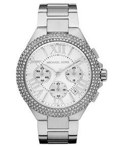 Michael Khors silver watch...love it!