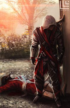Connor Kenway (Assassins Creed III) by Lensar
