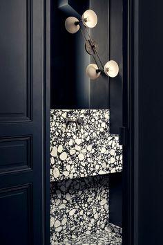 Restroom Design, Bathroom Interior Design, Kitchen Interior, Interior Decorating, Bathroom Inspiration, Interior Inspiration, Tiny Bath, Bungalow Renovation, Toilet Room