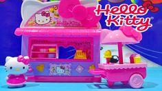Hello Kitty Sanrio Fun Fair Kiosk Playset From Sanrio Toys Store Video ★...