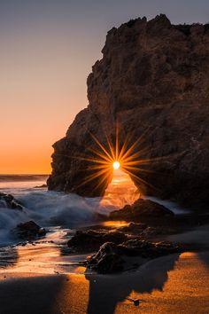El Matador Beach Sunsete by David Dai