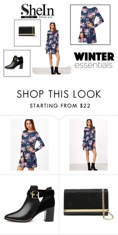 """""""Shein - Shei In/Shine Out"""" by lelenmatos ❤ liked on Polyvore featuring Ted Baker"""