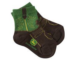John Deere Infant/Toddler Western Boot Socks « Clothing Impulse