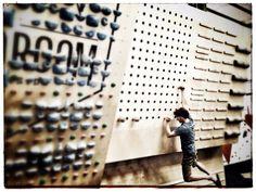 climbing training peg board - Google Search