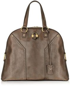 Yves Saint Laurent Muse - Oversized Leather Tote Bag