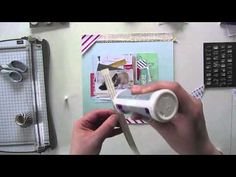 Janna Werner: DIY scrapbooking process video - YouTube