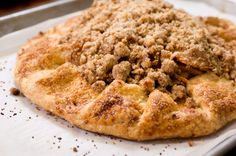 Recipe: Claudia Fleming's apple crostata (topped with bacon toffee). Photo: Evan Sung for The New York Times
