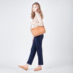 IR handbag colour: nude natural Balagan balaganstudio.com Between Warsaw and Tel Aviv Shoes and leather goods