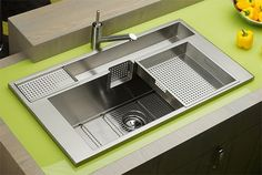 the Elkay Avado sink...it does everything a sink should do and more!