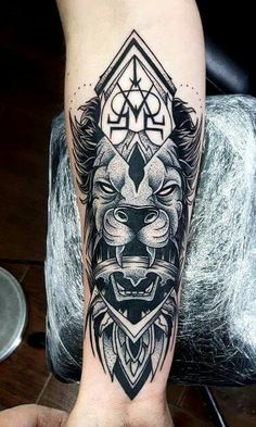 #tattoo #lion