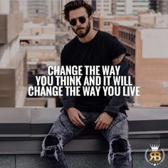 "206 Likes, 4 Comments - Your Success Is Our Goal (@risebeyond.fam) on Instagram: ""Change the way you think and it will change the way you live. You can't think negative and expect…"""