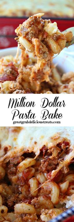 Million Dollar Pasta Bake