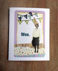 blank birthday card funny birthday card adult humor by FartsyArts, $4.00