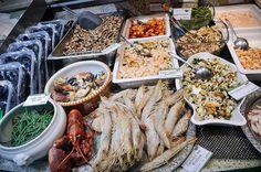 seafood market in Bremen