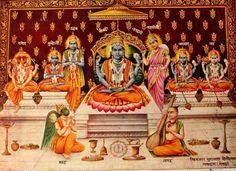 Lord Vishnu Badrinath (via ebay: ganga_jal)