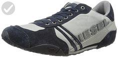 Diesel Men's Harold Solar Lace-Up Sneaker, Paloma/Blue Nights,8.5 M US - Mens world (*Amazon Partner-Link)