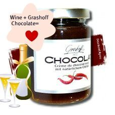 Grashoff Belgian Chocolate Sauce ( used for fondu, fruits, baking) can be found online or at Gourmet D.C stores. $9.99    www.fasofoods.com