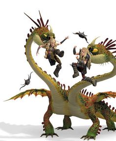 Barf and Belch | How to Train Your Dragon Wiki | Fandom powered by Wikia