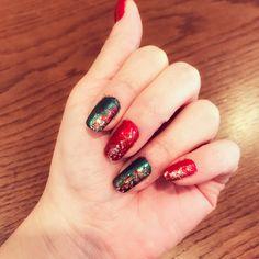 Today's Nail Art💅🏻✨ クリスマス🎄 #nailart #Christmas #xmas
