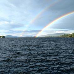 TRIPLE Rainbow in Greenville Maine(OC)(53444008)