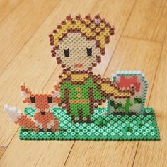 The Little Prince perler beads by aah_2_8
