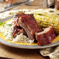 Best Baby Back Ribs Recipe -My dad encourage me when I was young to pursue my interest in cooking. As I got older, I experimented more, and there were many successes, including these ribs. —Rick Consoli, Orion, Michigan