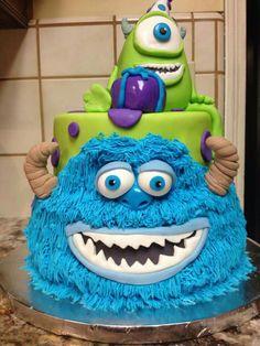 Cuz'n Jen's Monster's Inc. Cake!!! Krumm's Custom Cakes