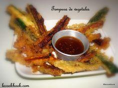 Tempura de vegetales con su salsa | Le Cookbook