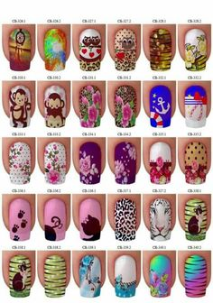 Nailart to all! Fancy Nail Art, Fancy Nails, Cute Nails, Pretty Nails, Simple Nail Art Designs, Nail Designs, Nicole By Opi, Best Acrylic Nails, Disney Nails