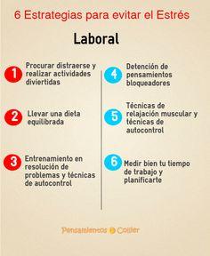6 Estrategias para evitar el Estrés Laboral
