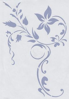 Wandschablonen Schablone Wandtattoo Ornament Modern in Möbel & Wohnen, Dekoration, Wandtattoos & Wandbilder | eBay
