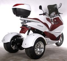 Brand New 3 Wheel Trike Scooter Automatic 4 Stroke Moped! Limited Quantities Available! Custom Motorcycle Parts, Aftermarket Motorcycle Parts, Buy Motorcycle, Motorcycle Types, Custom Motorcycles, Trike Motorcycles, Motorcycle Quotes, Trike Scooter, 3 Wheel Scooter