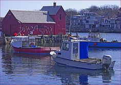 Rockport (MA) Inner Harbor by Ron Cogswell #EasyNip