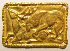 animal style - #griffin hunts deer. The #scythians gold bc original