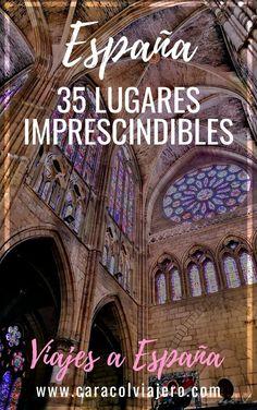 35 lugares imprescindibles que ver en España Portugal Travel, Spain Travel, Ronaldo, Education Humor, Celebrity Travel, Outdoor Art, Travel Around The World, Travel Tips, Tourism