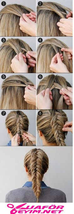 wedding hairstyles easy hairstyles hairstyles for school hairstyles diy hairstyles for round faces p Drawing Hair Braid, How To Draw Braids, How To Braid, How To French Braid, French Braids, How To Fishtail, French Braid Buns, Dutch Braids, Braiding Your Own Hair