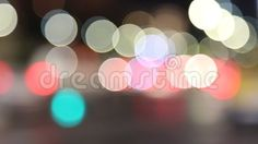 Video about Abstract lights - car traffic at night in blur. Video of celebration, clip - 78134503