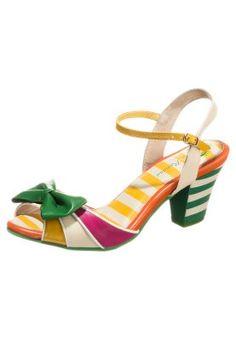 Modern interpetierter Fifties-Look! Lola Ramona ELSIE - Sandaletten - multicolor für € 109,95 (20.11.14) versandkostenfrei bei Zalando.at bestellen.