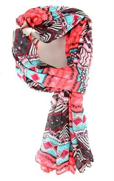 Deb Shops #Tribal Print #Scarf $10.90