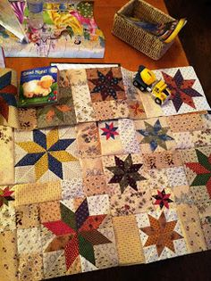 Little Quilts Blog - desert quilting.  great tips!!