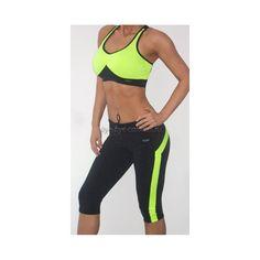 Купить женский спортивный костюм с коротким топом Lena-Abby (Лена-Эбби) в интернет-магазине Бай бай калории