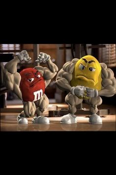 Interesting Bodybuilding Pin re-pinned by Golden Age Muscle Movies: The World's Largest Selection of Bodybuilding on DVD. http://goldenagemusclemovies.com  NICE. !!!! M&M'S getting it done in the gym. Lol