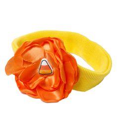 Halloween Stretch Headband With Candy CornHalloween Stretch Headband With Candy Corn,