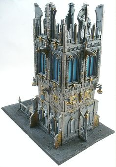 Buildings, Dice Tower, Grimdark, Imperial, Terrain, Tower, 40k