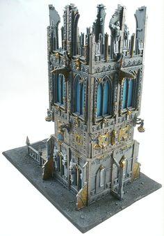 Buildings, Dice Tower, Grimdark, Imperial, Terrain, Tower, 40k