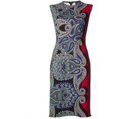 Lanvin Paisley Print Dress